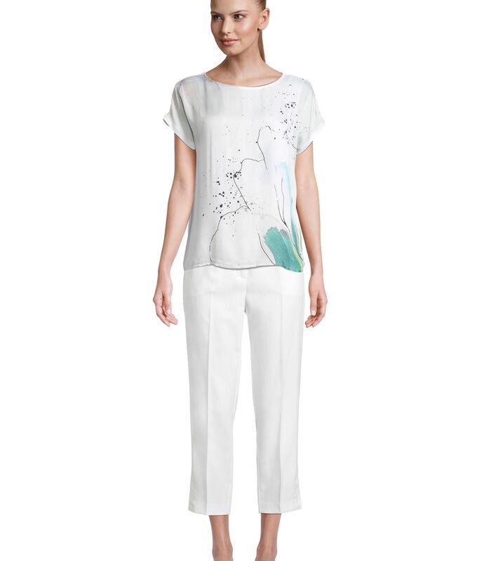 Shirt met korte mouwen met print image number 4