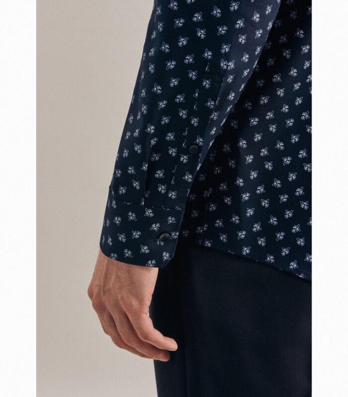 Oxfordhemd Regular Fit Extra lange mouwen Print image number 2