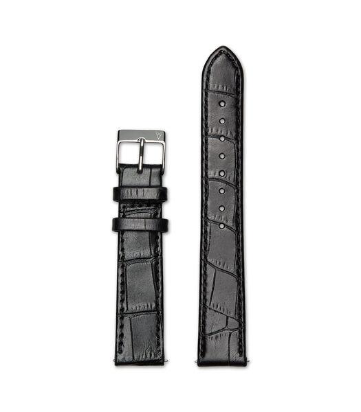 Elite 35.5 Horlogeband zwart R18S1CBK