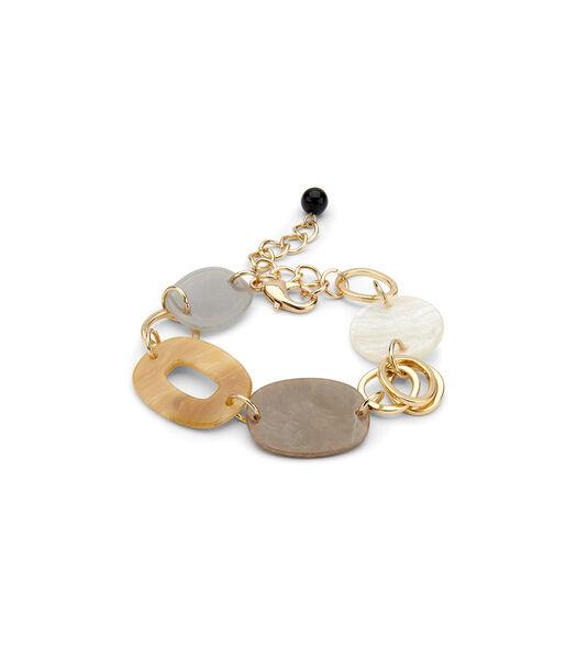 Bracelet KIONA (AB) Beige