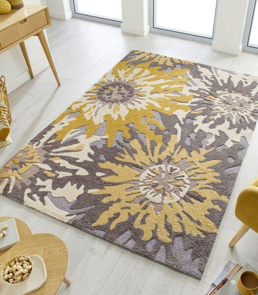 Design woonkamertapijt BLOOM 160x230 cm
