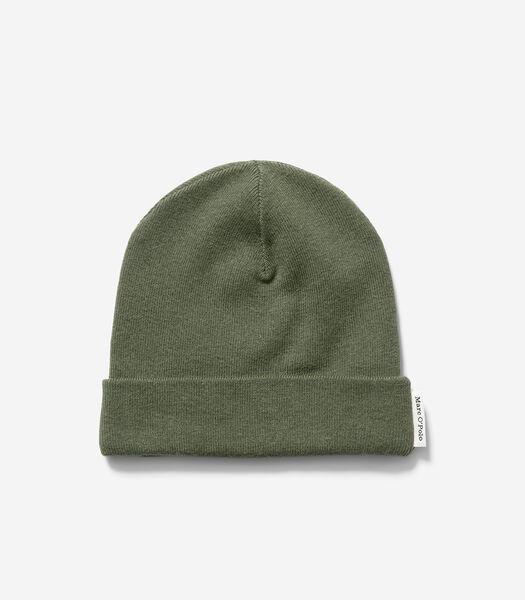 Bonnet en doux mélange de coton et de laine