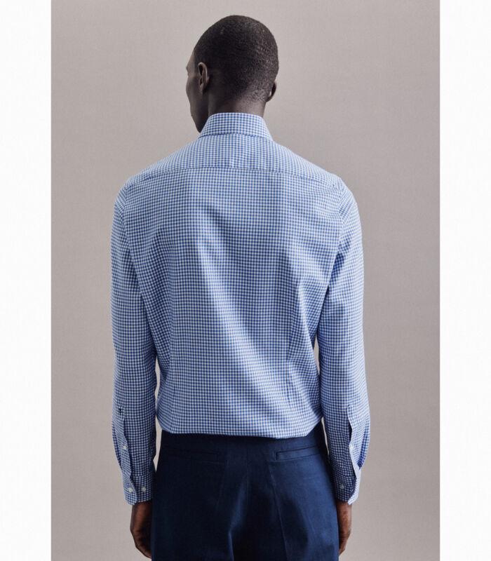 Overhemd Slim Fit Lange mouwen Geruit image number 1