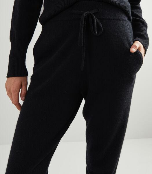 2-ply cashmere broek
