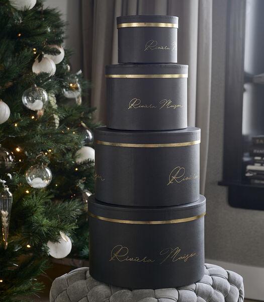 RM Giftbox black Set of 4 pieces