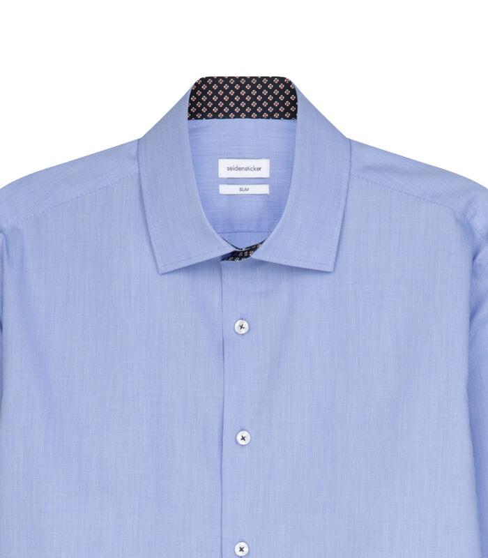 Overhemd Slim Fit Extra lange mouwen Uni image number 3