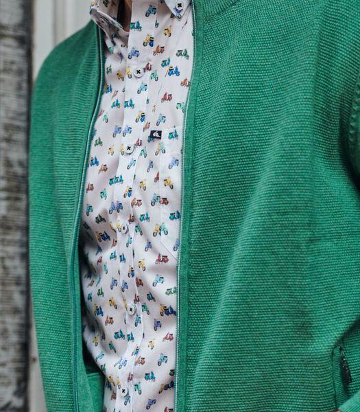 Tof hemd met vespa print