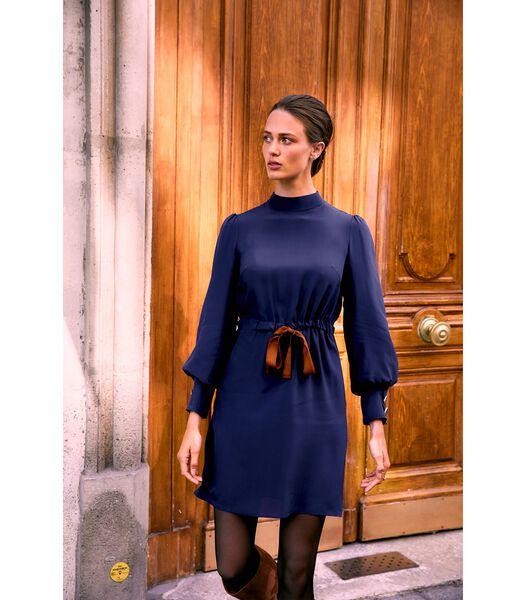 Zijden jurk VICTORIENNE SCHEMERING