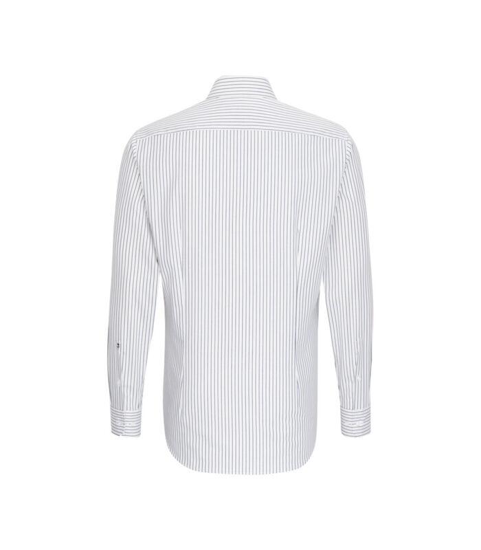 Overhemd Shaped Fit Lange arm Strepen image number 1