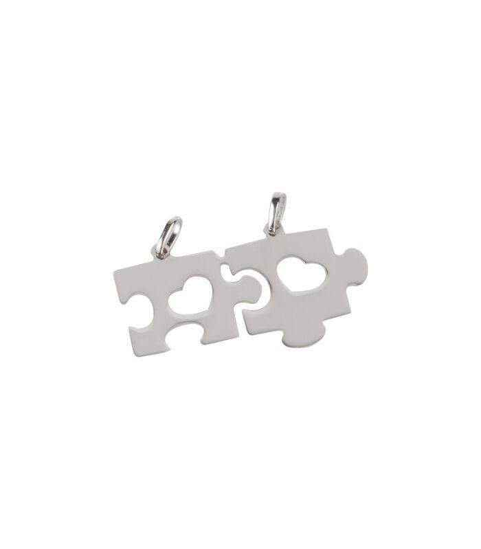 B-CLASSIC Rhodium zilveren hanger image number 0