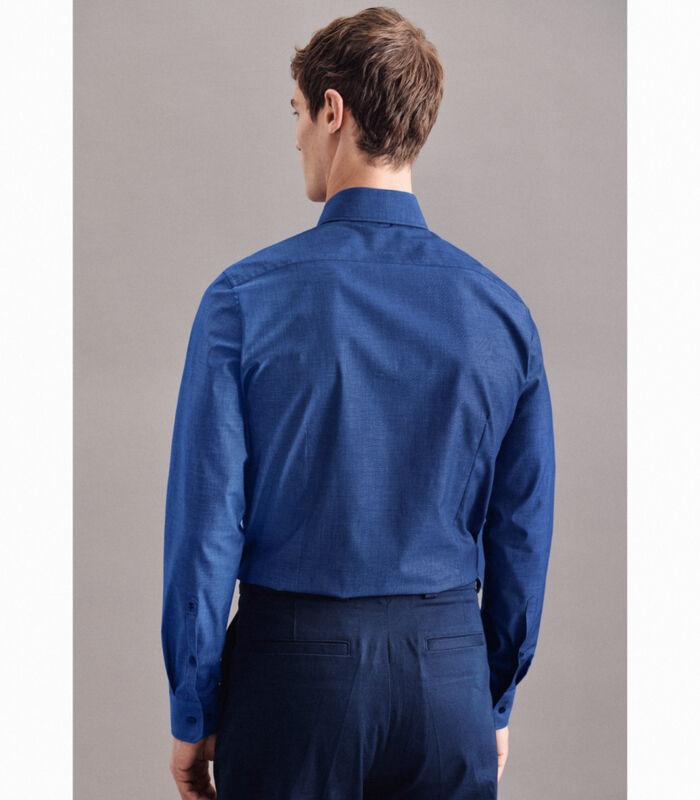 Overhemd Slim Fit Lange mouwen Uni image number 1
