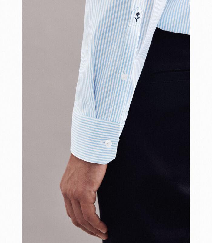 Performance hemd Regular Fit Lange mouwen Strepen image number 3