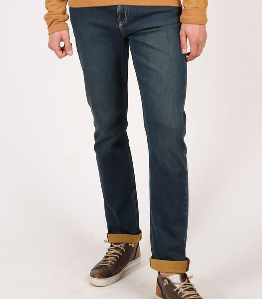 LC106 Castel Blue Brown - Slim Fit jeans