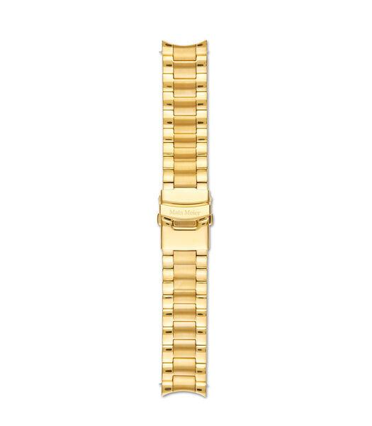 Horlogeband goudkleurig MM40002