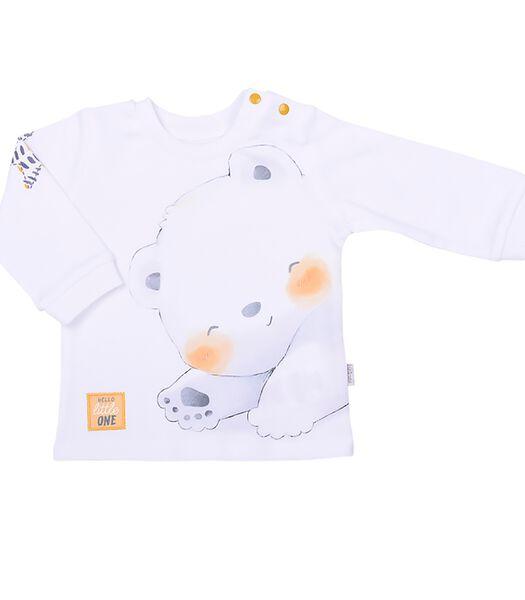 Biologisch katoenen baby kleertjes set, POLAR BEAR