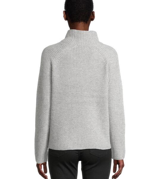 Gebreide trui met lange mouwen
