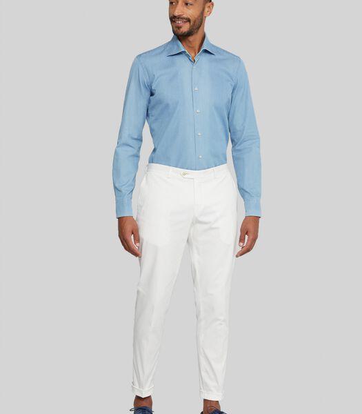 Indigo overhemd