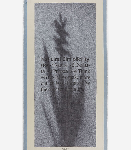Sjaal van TENCEL™ modal