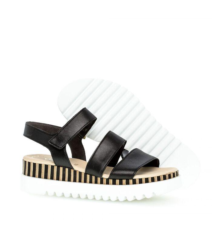 Leren sandalen image number 2