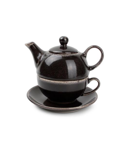 Tea for one set noir Artisan