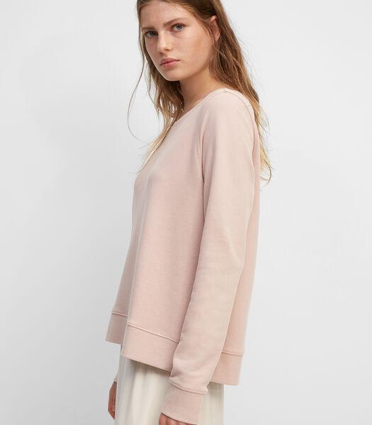 Sweatshirt van zuiver organic cotton