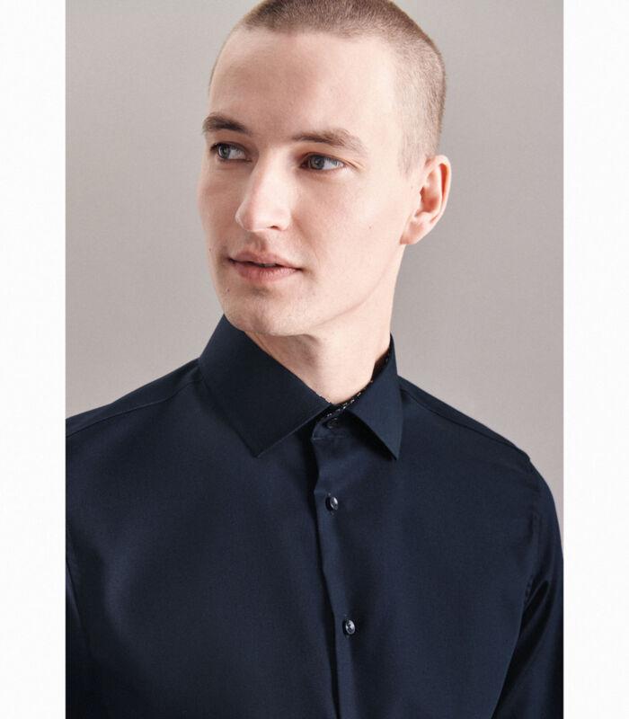 Overhemd Shaped Fit Extra lange mouwen Uni image number 3