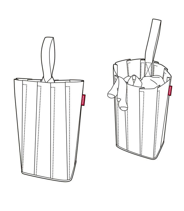 Laundrybag M - Wasmand - Basalt image number 3