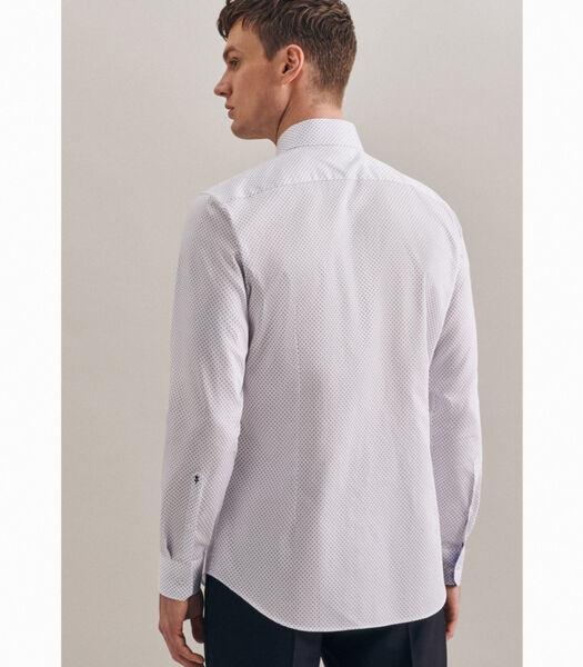 Overhemd Shaped Fit Extra lange mouwen Print