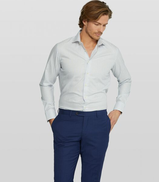 Oxford overhemd met streepdessin