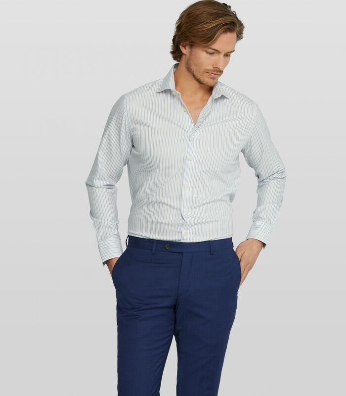 Oxford overhemd met streepdessin image number 0