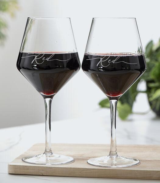 Verre à vin rouge RM 2 pcs