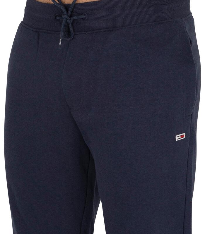 Slanke joggingbroek van fleece image number 4