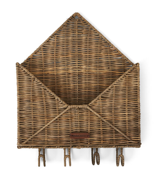 Rustic Rattan You've Got Mail