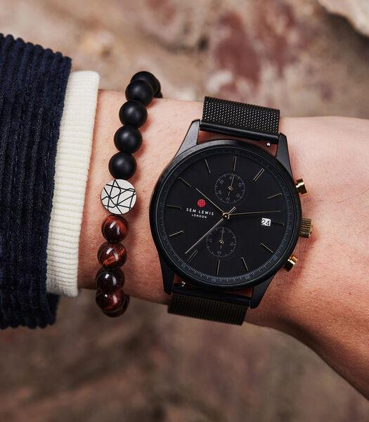 Piccadilly Armband zwart SL220016-M