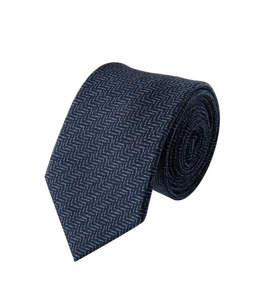 Cravate wool Chevrons