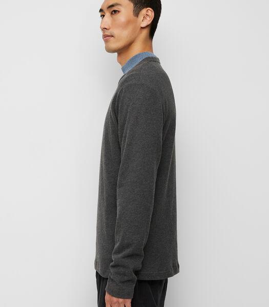 Sweatshirt van extra licht biologisch katoen