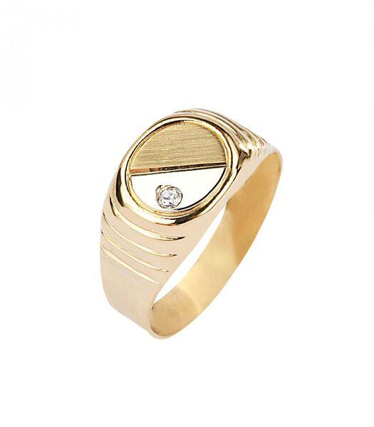 B-CLASSIC Ring Geelgoud 750