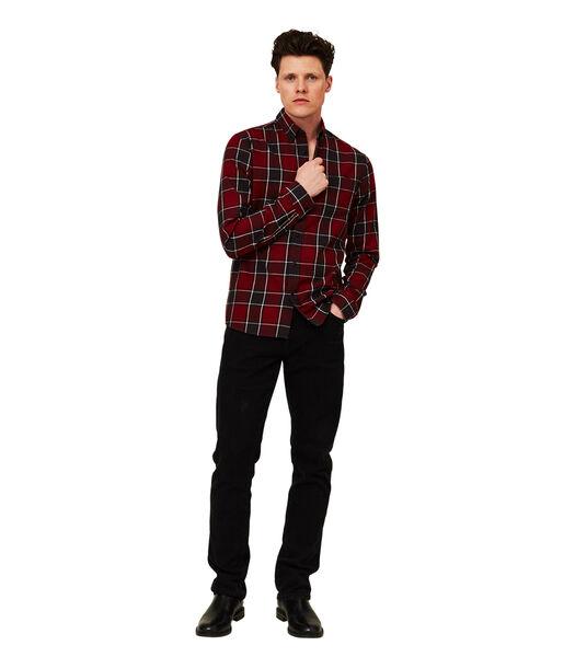 Peter Lt Flanel geruit overhemd