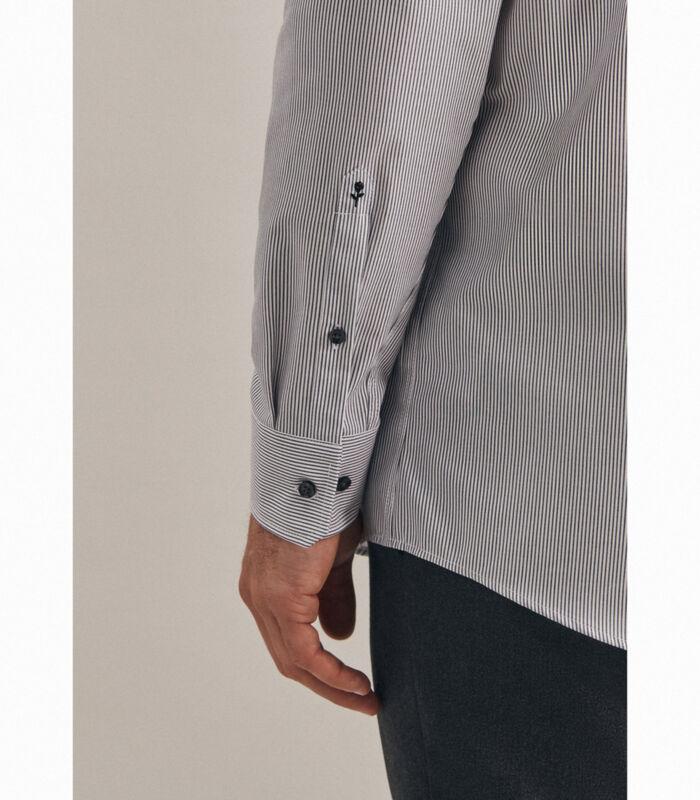 Overhemd Regular Fit Lange mouwen Strepen image number 3