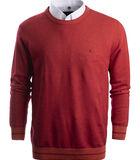 koraalrode trui in fijn katoen image number 0