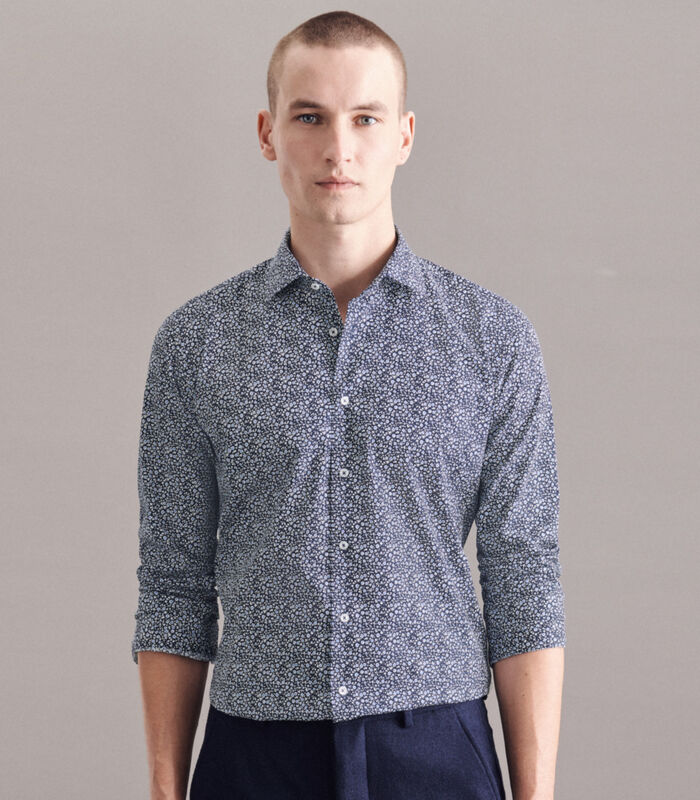 Overhemd Shaped Fit Lange mouwen Print image number 0