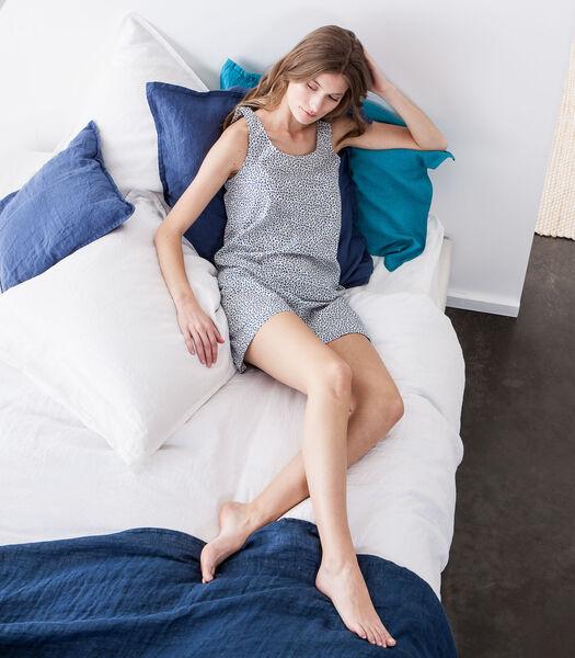 Korte homewear in katoen popeline
