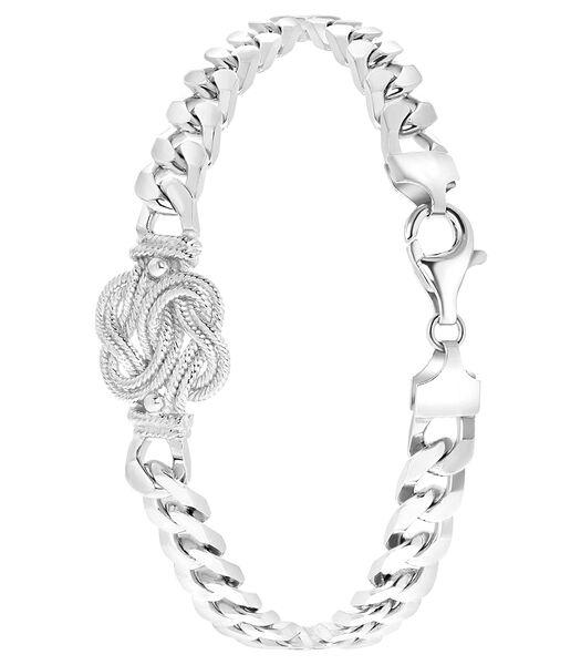 Zilveren armband Surinaamse mattenklopper