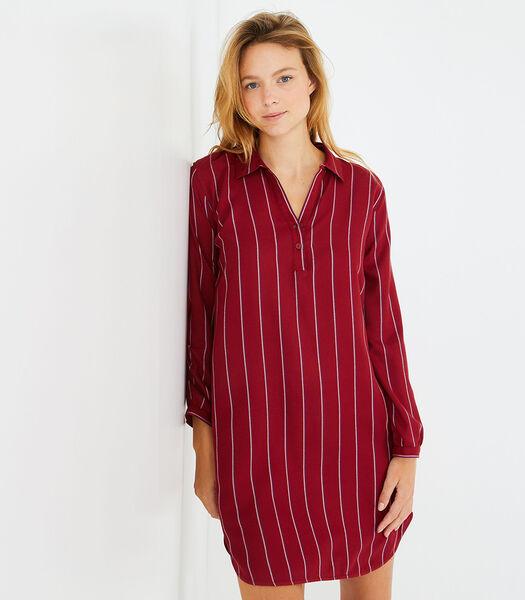 Sonate - Nachtshirt met lange mouwen viscose
