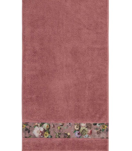 FLEUR - Serviette - Rose Poudré