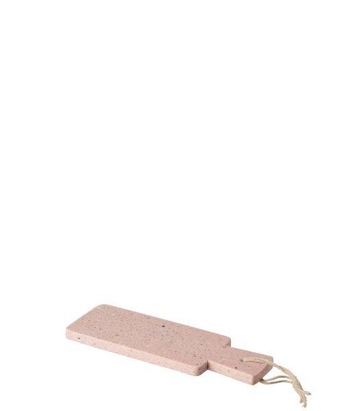 Plank Rechthoek Terrazzo Roze Small