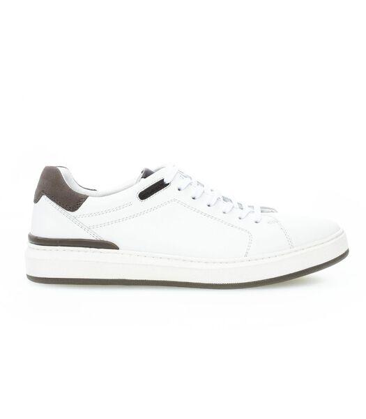 Sneakers plat suede