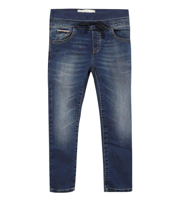 Jeans met elastische broekriem image number 0