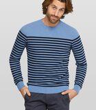 Gestreepte pullover Starlin van katoen image number 0