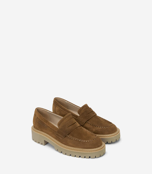 Loafers van zacht suède